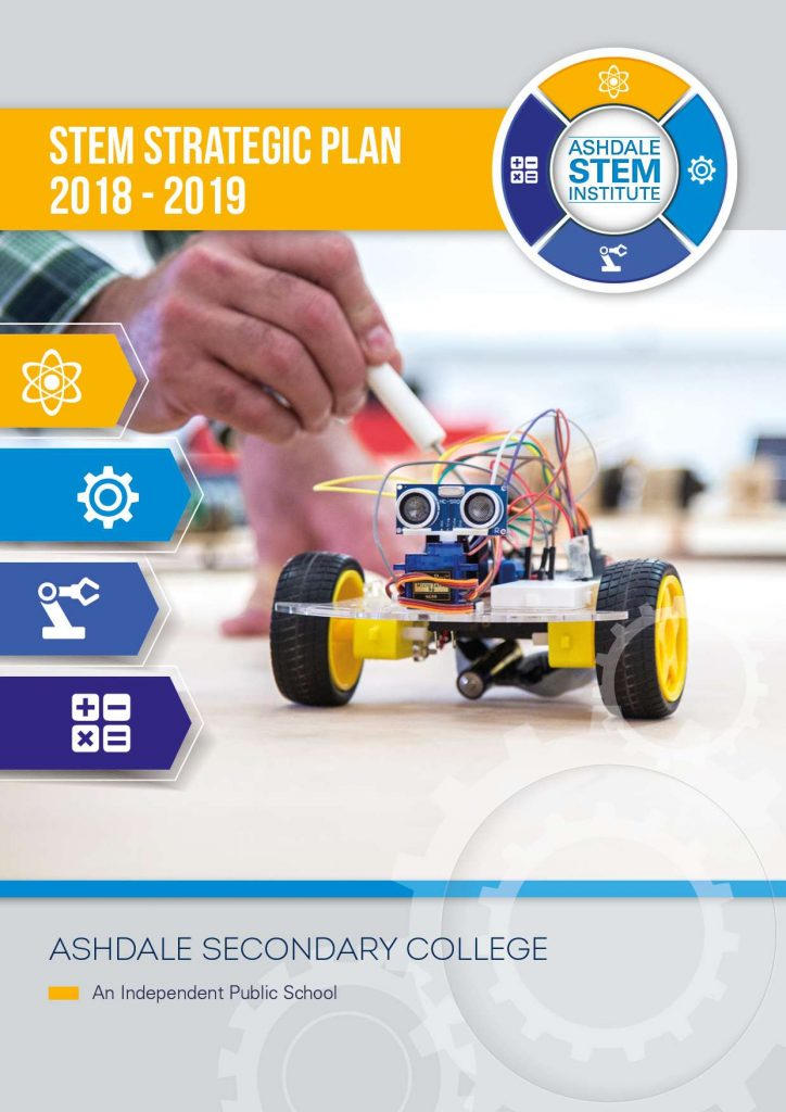 Ashdale STEM Strategic Plan 2018 Cover